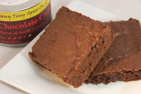 Chocolate Chili Brownies.