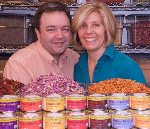 Ed & Thora, proprietors of Teeny Tiny Spice Co.