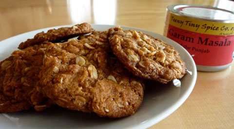 Garam Masala adds a bit of spice to your cookies.