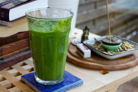 Every morning, I have a green juice or smoothie. It may seem like a lot of the same but if you vary the ingredients they tast (and look) quite different!