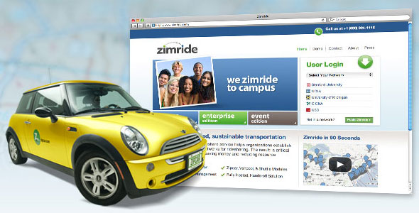 Zipcar members can now post their reservations and share rides on Zimride as well.