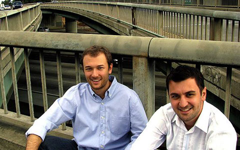 Zimride founders Logan Green and John Zimmer.