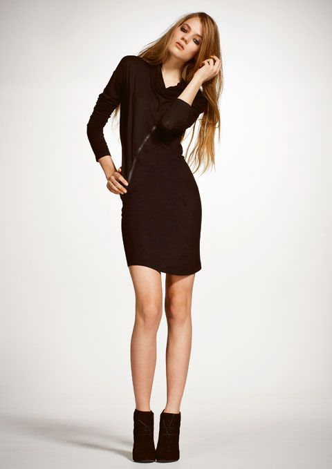 Goodlifer: Good Stuff: Scandinavian Noir: Bllack Noir Tiffa Dress