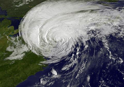Hurricane Irene. Photo by NASA.