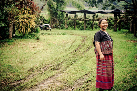Duong says it was difficult for her to leave the communities she visited, knowing that as she continued to travel and pursue her day to day activities; these people continue to struggle for life's most basic necessities.