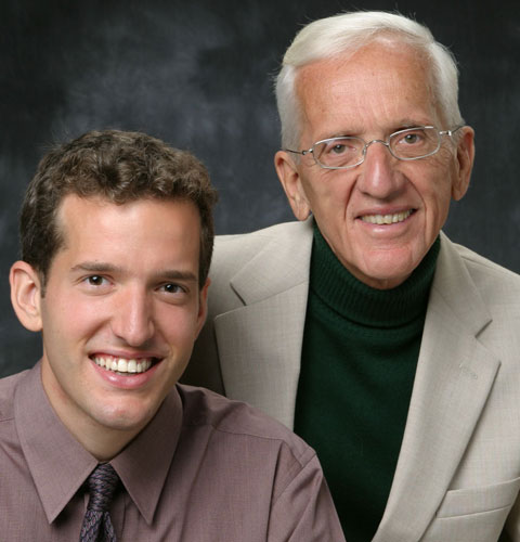 Thomas M. Campbell II & Dr. T. Colin Campbell, authors of The China Study.