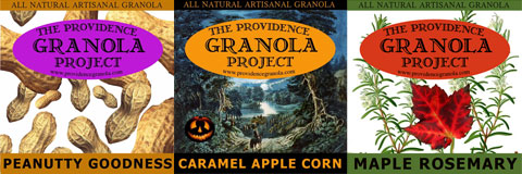 In addition to the original flavor (Originola), you'll also find ever-changing flavors like Peanutty Goodness, Caramel Apple Corn and Maple Rosemary.