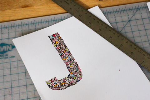 Goodlifer: What I Made This Week: A Happy Initial