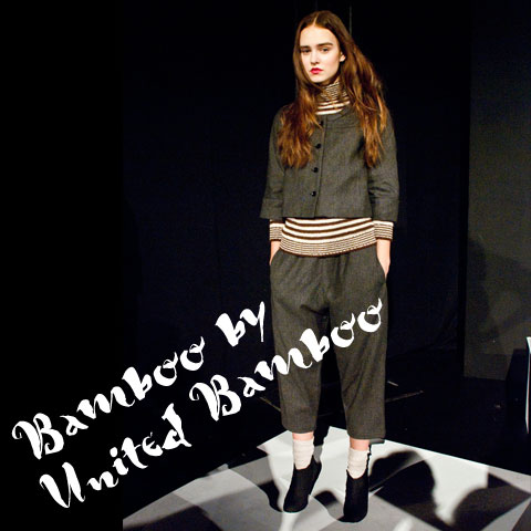 Goodlifer: The GreenShows at NYFW FW12: Bamboo by United Bamboo