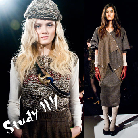 Goodlifer: The GreenShows at NYFW FW12: Study NY