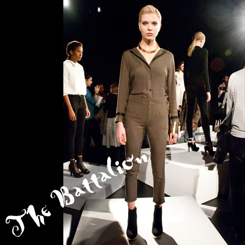 Goodlifer: The GreenShows at NYFW FW12: The Battalion