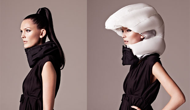 Goodlifer: Hövding - The Invisible Bike Helmet That Will Save Lives