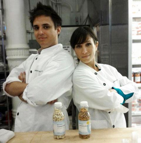 OMilk founders Greg and Julie Van Ullen. Photo via Brooklyn Makers.