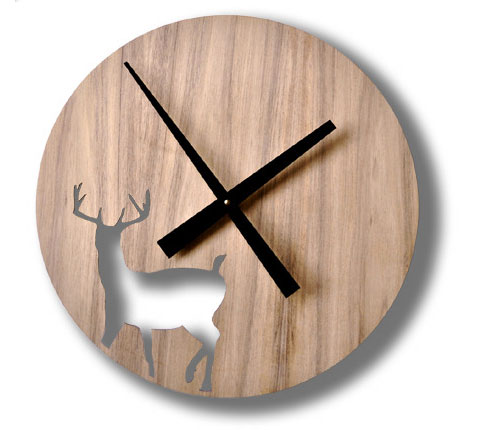 Goodlifer: Gift Guide: Made in Australia: Stag Clock