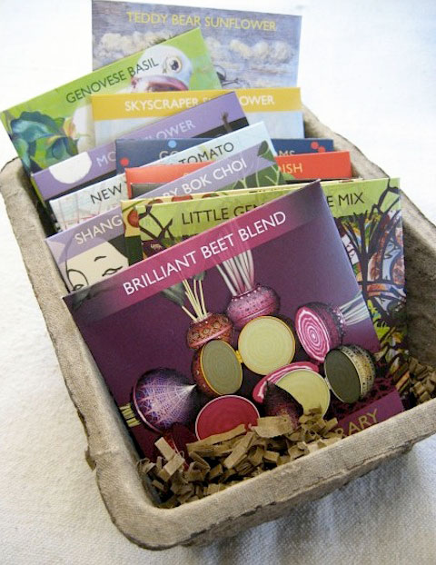 Gift Guide: Good Gifts From A to Z: Hudson Valley Seed Kit