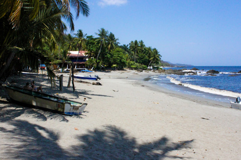 Montezuma is a former fishing village turned bohemian budget vacation destination, known for its charm and spectacular waterfall swimming holes.