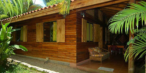 Disfrutalo Ranchos y Villas in Santa Teresa offers spacious bungalows equipped with kitchens  perfect for groups.