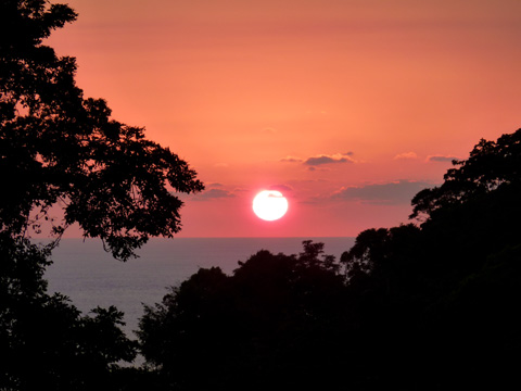 No matter where in Costa Rica you are, the sunsets are incredible. Make sure you make time to sit down and enjoy them.