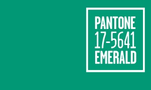Pantone's Color of the Year, 2013, is Emerald