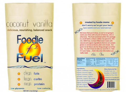 "Foodie Fuel is handcrafted using ""the finest natural and organic ingredients on planet Earth."""