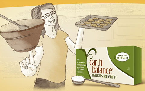 Goodlifer: Earth Balance - Vegan, Non-GMO Kitchen Staples & Snacks