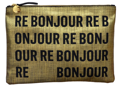 Clare Vivier Re Bonjour clutch