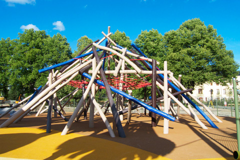 Monstrum's New Playground in Kristinebergs Slottspark, Stockholm