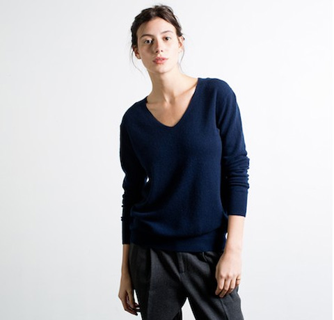 Everlane V-neck Cashmere Sweater