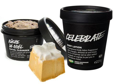 Holiday Goodies from Lush