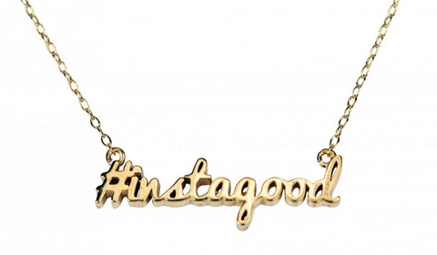 Yellowsmith Hashtag Necklace