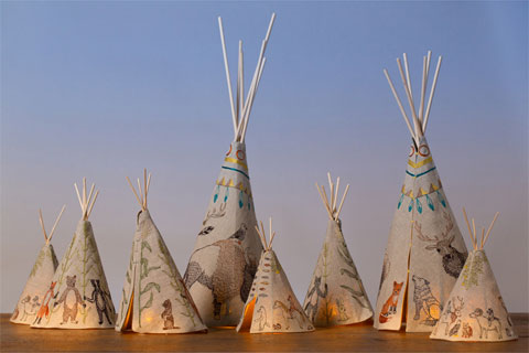 Goodlifer: Good Gifts for Kids: Coral and Tusk Tipi