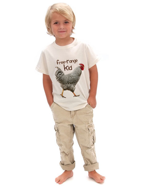 Goodlifer: Good Gifts for Kids: Free Range Kids Tee