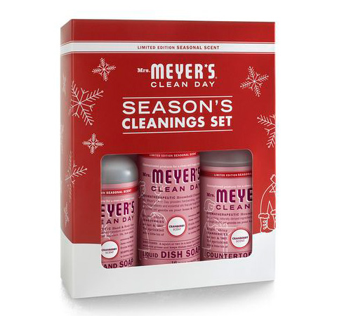 Last Minute Gift Guide: Mrs Meyers Season's Cleaning Set