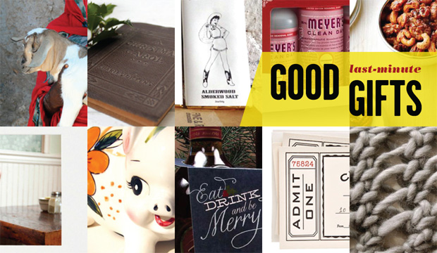 Good (Last Minute) Gifts for Holiday Procrastinators