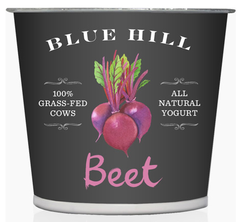 Blue Hill Yogurt: Beet flavor