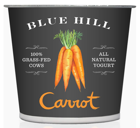 Blue Hill Yogurt: Carrot flavor