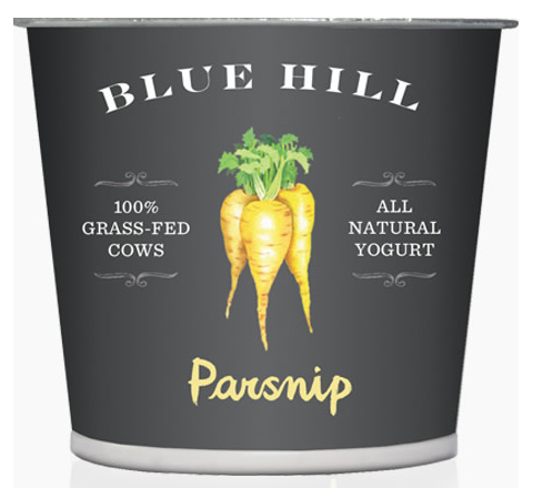 Blue Hill Yogurt: parsnip flavor