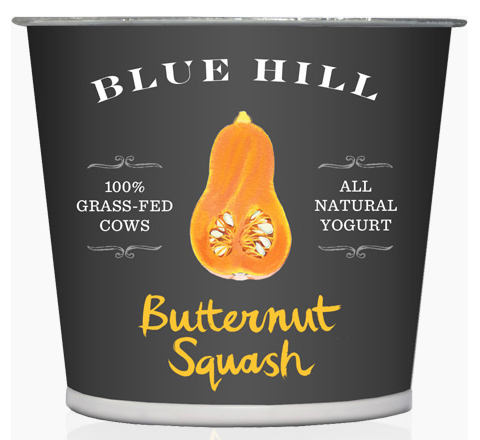 Blue Hill Yogurt: Buternut Squash flavor