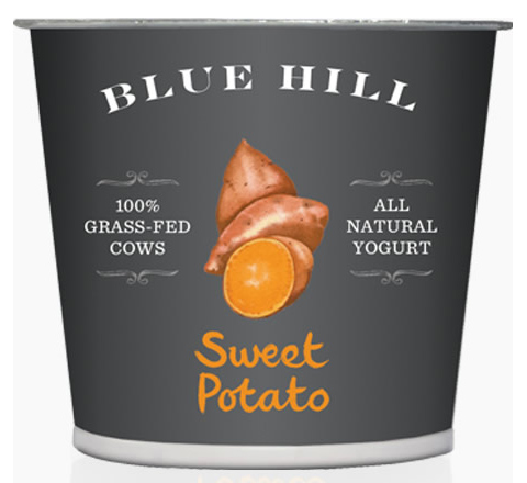 Blue Hill Yogurt: Sweet Potato flavor
