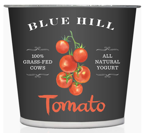 Blue Hill Yogurt: Tomato flavor
