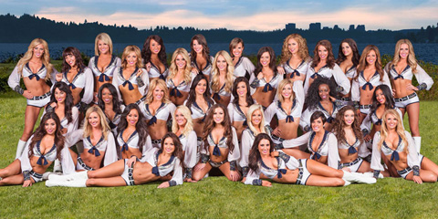 The Seattle Seahawks Cheerleading squad, The Sea Gals