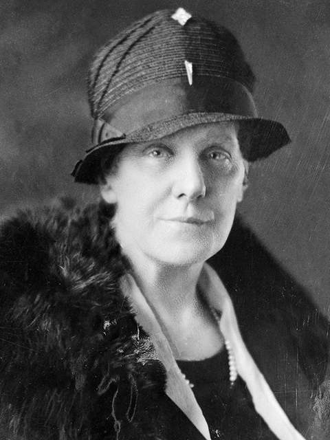 Anna Jarvis, credited with founding Mother's Day in the U.S.