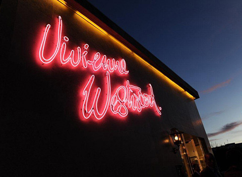Vivienne Westwood's store on Melrose Avenue in Los Angeles. Photo courtesy of Vivienne Westwood