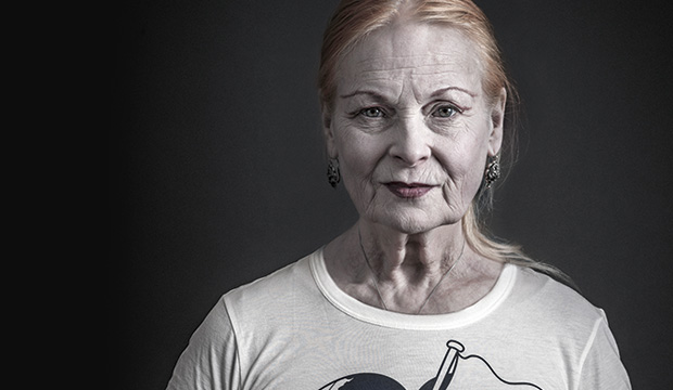 Vivienne Westwood for Greenpeace/Save the Actic Photo: ©Andy Gotts MBE