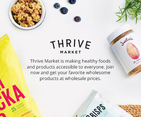 Goodlifer: Good Gifts for Foodies: Thrive Market membership