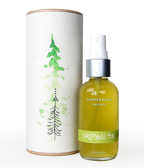 Goodlifer: Good Gifts for Men: Juniper Ridge Christmas Fir Cabin Spray