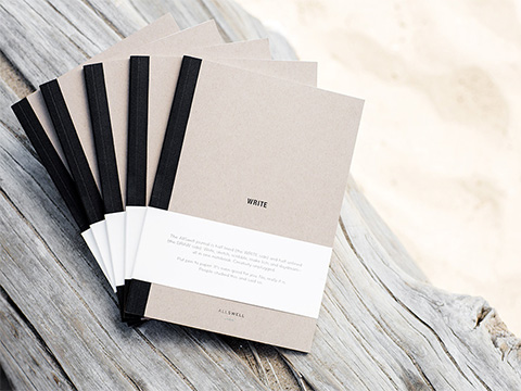 Goodlifer: Good Gifts for the Wellness Warrior: AllSwell Notebook No.1