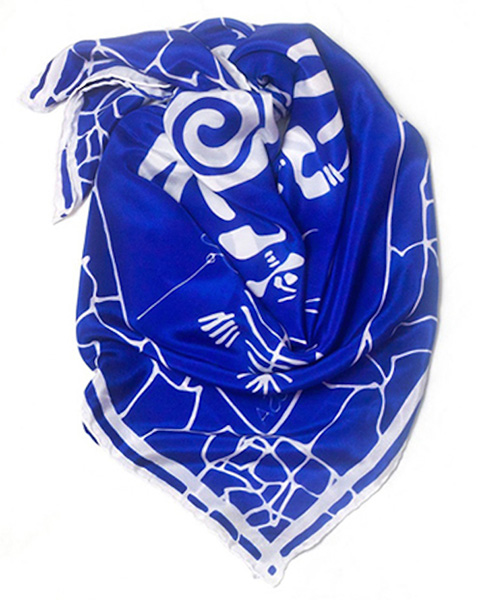 Goodlifer: Good Gifts for Your BFF: Splash of Hope scarf
