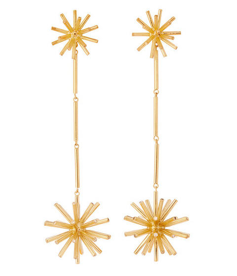 Good Gifts for Your (Lady) Love: Asterisk Large Party Drop Earrings by Coléoptère